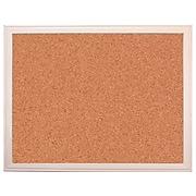 "Flipside Cork Display Board, 24"" x 36"", Brown (10300)"