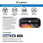 "Epson Expression® Photo HD XP-15000 Wireless Wide-format Printer, prints up to 13"" x 19"""