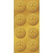 "Great Papers! Star Seals, 1.75"", Gold, 96/Pack (903419PK2)"