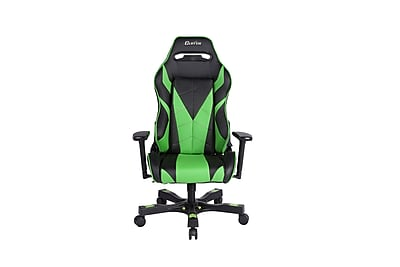 Clutch Chairz Gear Series Bravo, Professional Grade Gaming & Computer Chair in Black and Green (GRB66BG)