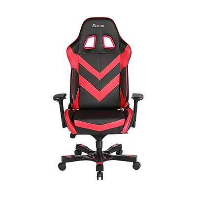 Clutch Chairz Throttle Series Charlie, Professional Grade Gaming & Computer Chair in Black and Red (THC99BR)