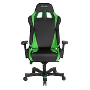 Clutch Chairz Throttle Series Alpha, Professional Grade Gaming & Computer Chair in Black and Green (THA99BG)