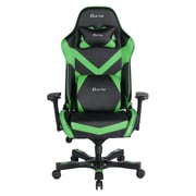 Clutch Chairz Throttle Series Charlie, Professional Grade Gaming & Computer Chair in Black and Green (THC99BG)