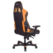 Clutch Chairz Throttle Series Echo, Professional Grade Gaming & Computer Chair in Black and Orange (THE99BO)