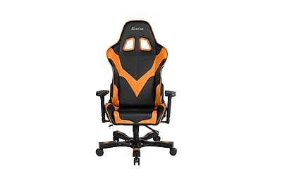 Clutch Chairz Crank Series Echo, Professional Grade Gaming & Computer Chair in Black and Orange (CKE11BO)