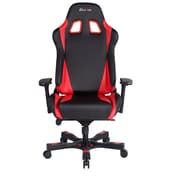 Clutch Chairz Throttle Series Alpha, Professional Grade Gaming & Computer Chair in Black and Red (THA99BR)