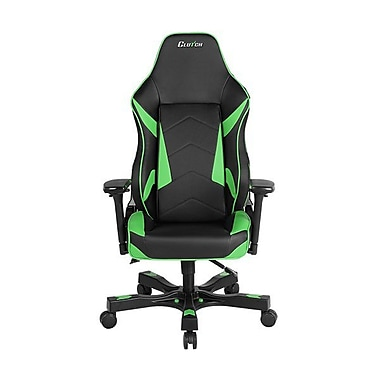 Clutch Chairz Shift Series Bravo, Professional Grade Gaming & Computer Chair in Black and Green (STB77BG)