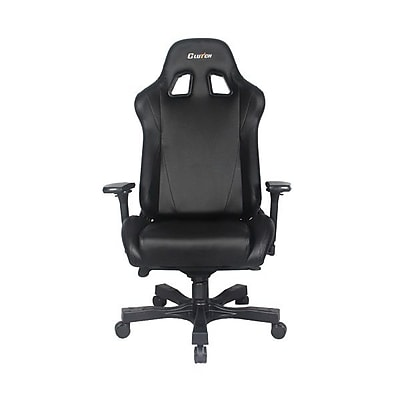 Clutch Chairz Throttle Series Alpha, Professional Grade Gaming & Computer Chair in Black (THA99B)