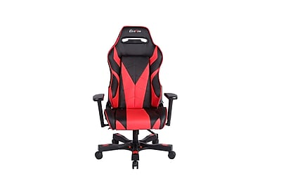 Clutch Chairz Gear Series Bravo, Professional Grade Gaming & Computer Chair in Black and Red (GRB66BR)