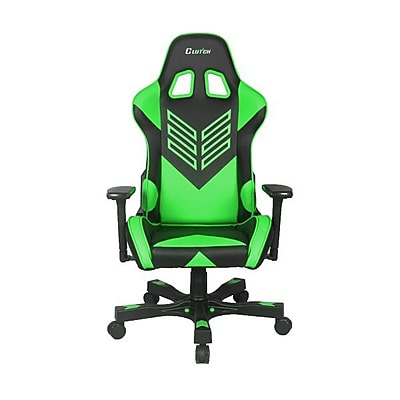 Clutch Chairz Crank Series Onylight, Professional Grade Gaming & Computer Chair in Black and Green (CKOT55BG)