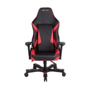 Clutch Chairz Shift Series Bravo, Professional Grade Gaming & Computer Chair in Black and Red (STB77BR)