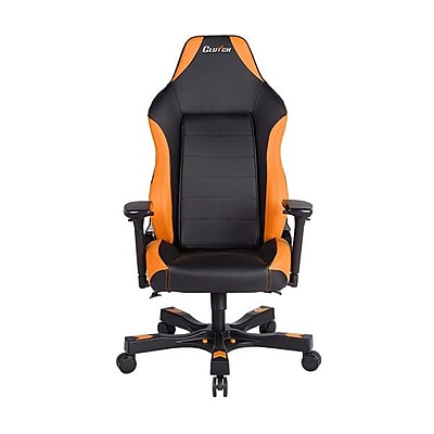 Clutch Chairz Shift Series Alpha, Professional Grade Gaming & Computer Chair in Black and Orange (STA77BO)