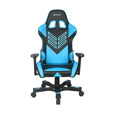Clutch Chairz Crank Series Onylight, Professional Grade Gaming & Computer Chair in Black and Blue (CKOT55BBL)