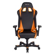 Clutch Chairz Throttle Series Alpha, Professional Grade Gaming & Computer Chair in Black and Orange (THA99BO)