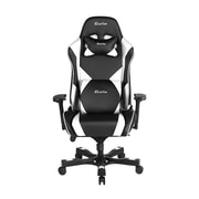 Clutch Chairz Throttle Series Echo, Professional Grade Gaming & Computer Chair in Black and White (THE99BW)