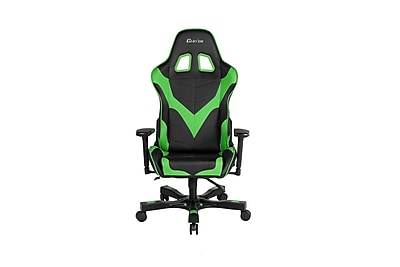 Clutch Chairz Crank Series Echo, Professional Grade Gaming & Computer Chair in Black and Green (CKE11BG)