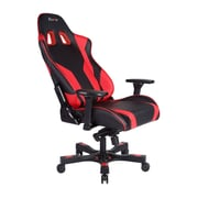 Clutch Chairz Throttle Series Echo, Professional Grade Gaming & Computer Chair in Black and Red (THE99BR)