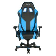 Clutch Chairz Throttle Series Echo, Professional Grade Gaming & Computer Chair in Black and Blue (THE99BBL)