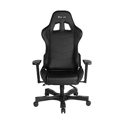 Clutch Chairz Crank Series Delta, Professional Grade Gaming & Computer Chair in Black (CKD11B)