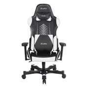 Clutch Chairz Crank Series Poppaye, Professional Grade Gaming & Computer Chair in Black and White (CKPP55BW)