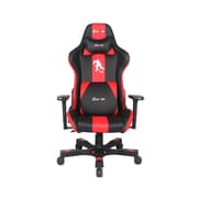 Clutch Chairz Crank Series Hockey, Professional Grade Gaming & Computer Chair in Black and Red (CKCO88BR)