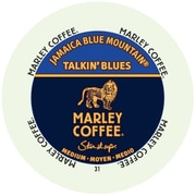 Marley Coffee Jamaican Blue Mountain, RealCup portion pack for Keurig K-Cup Brewers, 192 Count (4690004)