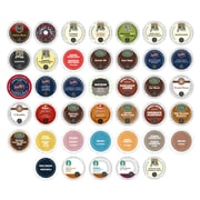 K-Cup Coffee Variety Pack, Selection of the Best Coffees in the World, 40 Count, 40 Count (CE1003168)