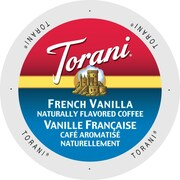 Torani Coffee French Vanilla, Single Serve Cup Portion Pack for Keurig K-Cup Brewers, 24 Count (SNTR5240)