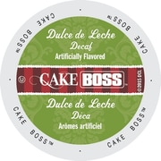 Cake Boss Coffee Dulce De Leche Decaf, Single Serve Cup Portion Pack for Keurig K-Cup Brewers, 24 Count (SNCB5352)