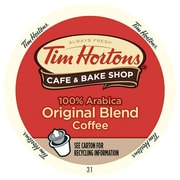 Tim Hortons Original Blend, RealCup Portion Pack For Keurig Brewers, 30 Count (11MP201)