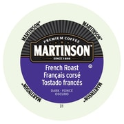 Martinson Coffee French Roast, RealCup portion pack for Keurig K-Cup Brewers, 48 Count (4320036)