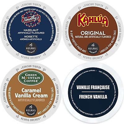 K-Cup Flavored Coffee Variety Pack, 96 Count Flavored Keurig 2.0 K Cup Sampler, 96 Count (GMT9004-CP4) 24116492