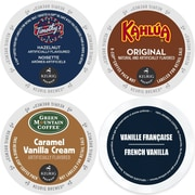 K-Cup Flavored Coffee Variety Pack, 96 Count Flavored Keurig 2.0 K Cup Sampler, 96 Count (GMT9004-CP4)