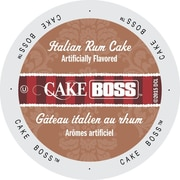 Cake Boss Coffee Italian Rum Cake, Single Serve Cup Portion Pack for Keurig K-Cup Brewers, 24 Count (SNCB5242)