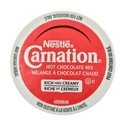 Nestle Carnation Hot Chocolate, RealCup Portion Pack for Keurig Brewers, 12 Count (12280920)