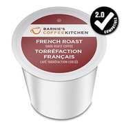 Barnie's Coffee Kitchen French Roast, Single Serve Cups for K-Cup Brewers, 24 Count (SNBA328151)