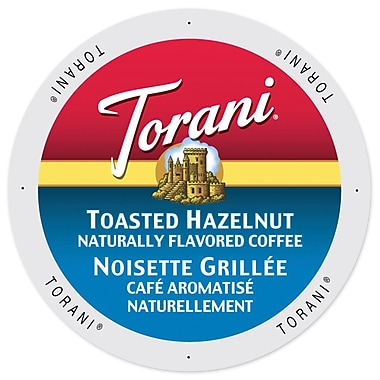 Torani Coffee Toasted Hazelnut, Single Serve Cup Portion Pack for Keurig K-Cup Brewers, 96 Count (SNTR5254)