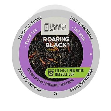 Higgins & Burke Loose Leaf Tea Roaring Black, RealCup portion pack for Keurig K-Cup Brewers, 48 Count (3028812)