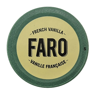 Faro French Vanilla Coffee, Compostable Single Serve Cup for Keurig Brewers, 12 Count (P-1051545) 24116663