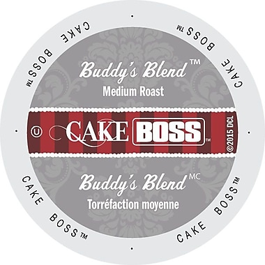 Cake Boss Coffee Buddy's Blend, Single Serve Cup Portion Pack for Keurig K-Cup Brewers, 96 Count (SNCB5132)