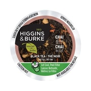 Higgins & Burke Loose Leaf Tea Chai Glow, RealCup portion pack for Keurig K-Cup Brewers, 24 Count (3028811)