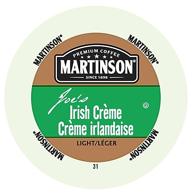Martinson Coffee Irish creme, RealCup Portion Pack for Keurig K-Cup Brewers, 96 Count (4320106)