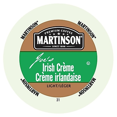 Martinson Coffee Irish creme, RealCup Portion Pack for Keurig K-Cup Brewers, 192 Count (4320106)