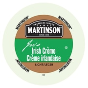 Martinson Coffee Irish creme, RealCup Portion Pack for Keurig K-Cup Brewers, 24 Count (4320106)