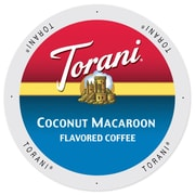 Torani Coffee Coconut Macaroon, Single Serve Cup Portion Pack for Keurig K-Cup Brewers, 48 Count (SNTR5238)