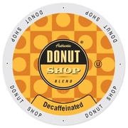 Authentic Donut Shop Decaffeinated, Single Serve Cup Portion Pack for Keurig K-Cup Brewers, 24 Count (SNDO2400)