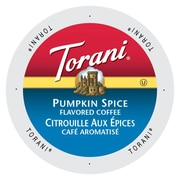 Torani Coffee Pumpkin Spice, Single Serve Cup for Keurig K-Cup Brewers, 48 Count (SNTR5248)