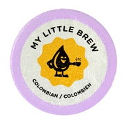 My Little Brew Colombian, Single Serve Cup Portion Pack for Keurig K-Cup Brewers, 96 Count (K1042142)