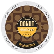 Authentic Donut Shop Original Dark, Single Serve Cup Portion Pack for Keurig K-Cup Brewers, 48 Count (SNDO2105)