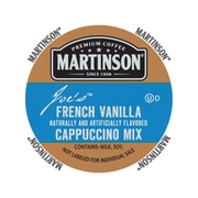 Martinson French Vanilla Cappuccino, RealCup portion pack for Keurig K-Cup Brewers, 24 Count (75-23145)